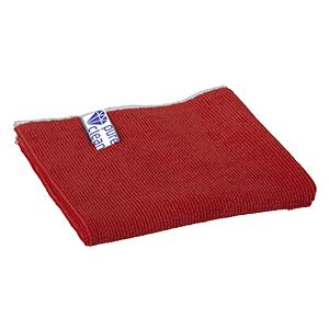 Mikrofiberklud Rød 40x 40 cm